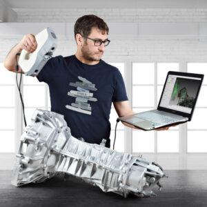 3D scanner Artec EVA GearBox