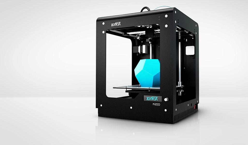 3D printer Zortrax M200 perspective