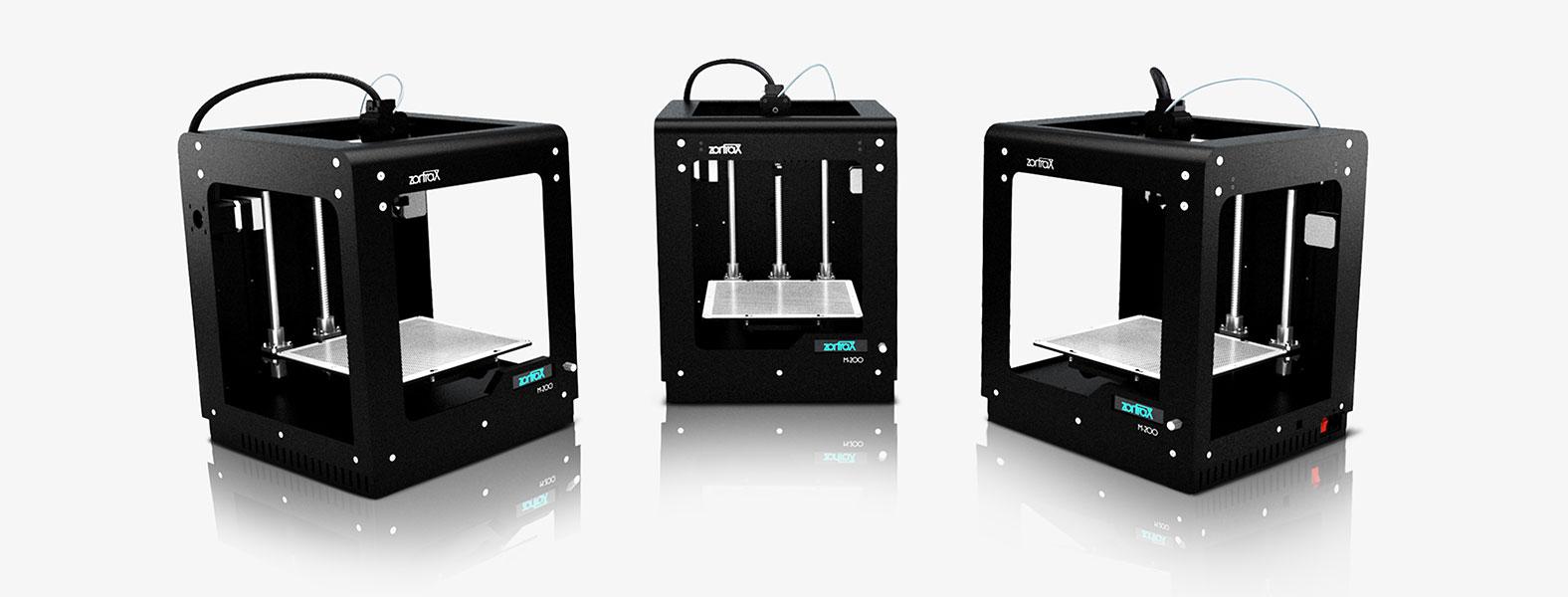 3D printer Zortrax M200 trial view