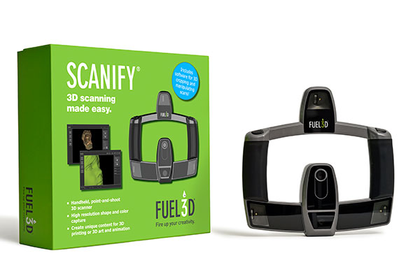 3D scanner Fuel3D box