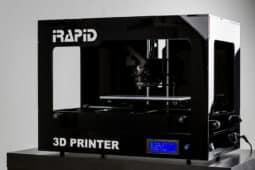 BLACK 3D-Printer