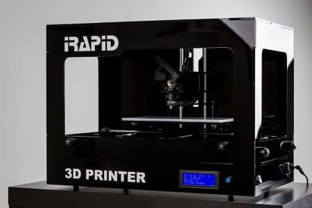 BLACK 3D-Printer IRapid  - 3D printers