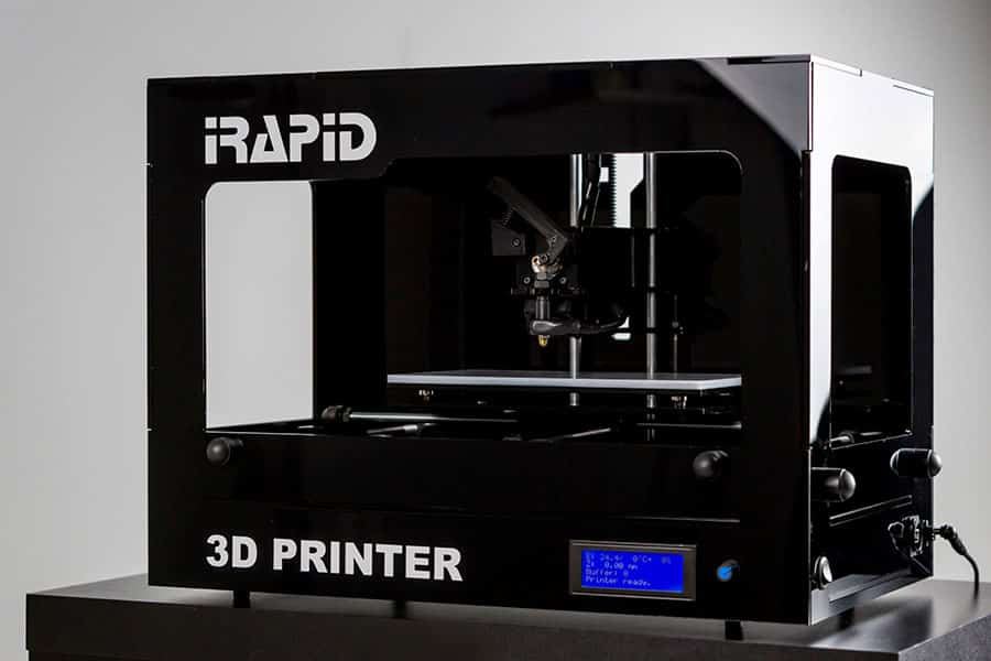 BLACK 3D-Printer IRapid  - 3D printers