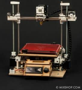 3D printer Mixshop Mix G1, front
