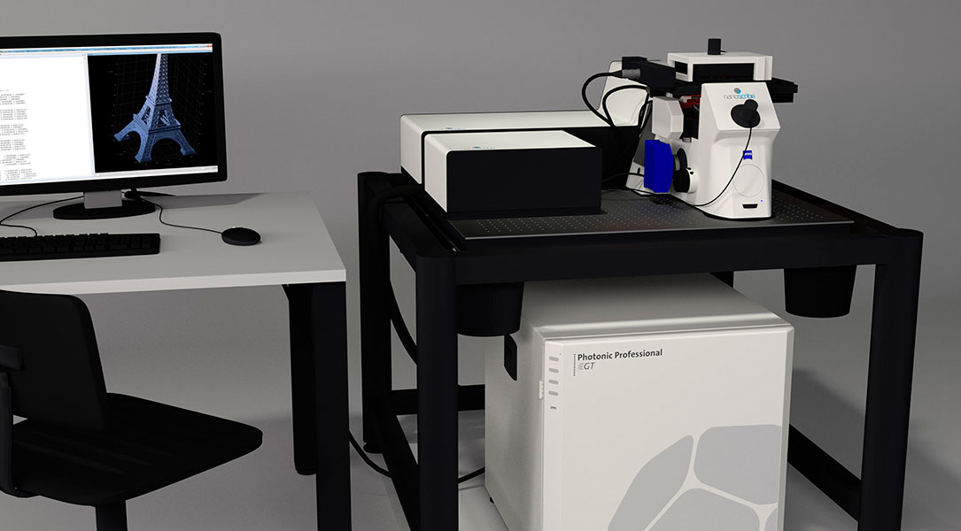Photonic Professional GT Nanoscribe - 3D printers