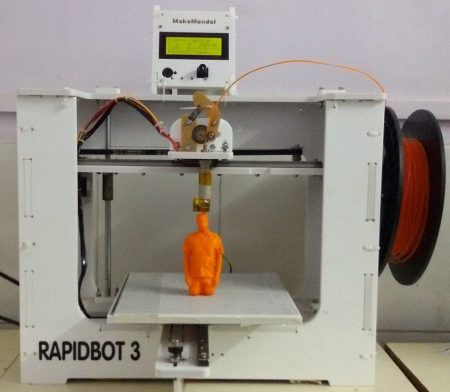 RapidBot 3.0 (Kit) MakeMendel - 3D printers