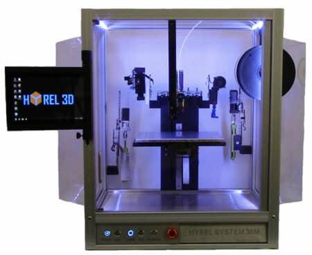 System 30M Hyrel 3D - Hybrid manufacturing