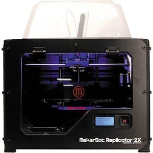 3D printer Makerbot Replicator 2X, front