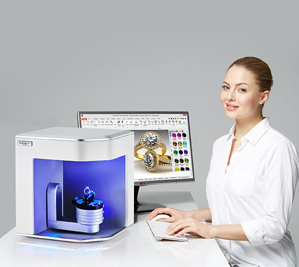 REXCAN DS3 Silver Solutionix - 3D scanners