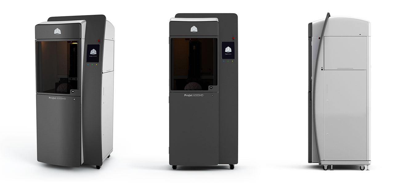 ProJet 6000 HD 3D Systems  - 3D printers