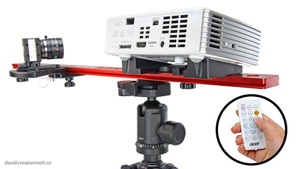 3D scanner David Structured Light Scanner SLS 2 back
