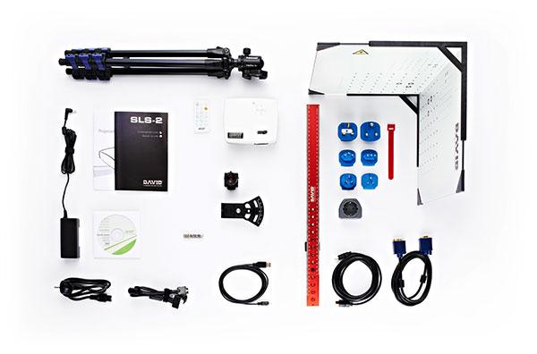 3D scanner David Structured Light Scanner SLS 2 kit