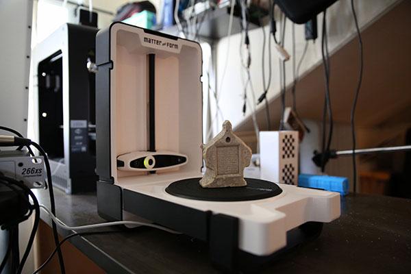 3D scanner Matter and Form 3D Scanner perspective