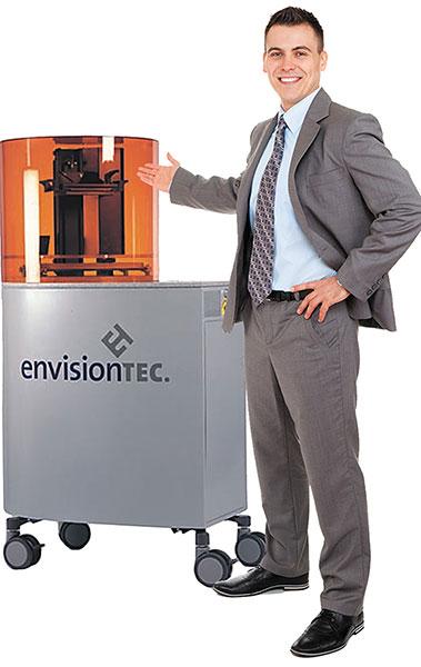 Perfactory 4 DSP ERM EnvisionTEC - 3D printers