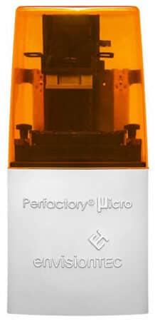 Perfactory Micro HiRes EnvisionTEC - Resin