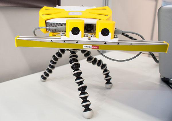 3D scanner RangeVision Smart, front