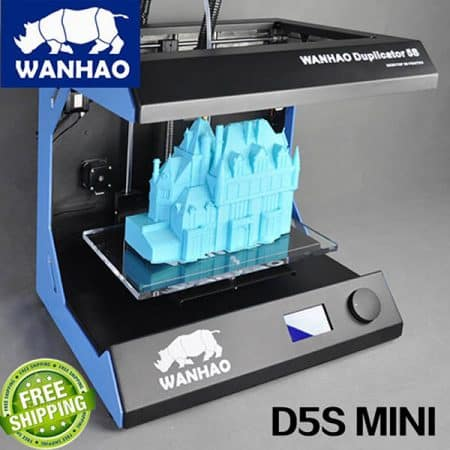 Duplicator D5S Mini Wanhao - Large format