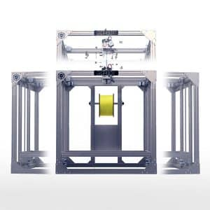 3D printer re3D Gigabot XL, front