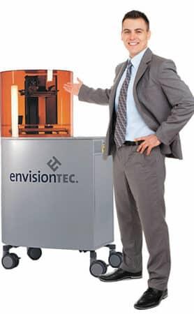 Perfactory 4 Mini ERM EnvisionTEC - Resin