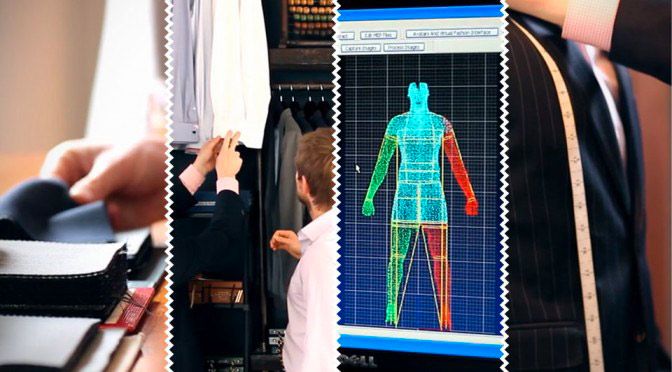 3D body scanning for the fashion industry. Making custom clothes.