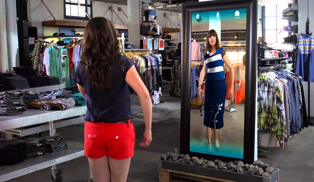 3D body scanning for the fashion industry.