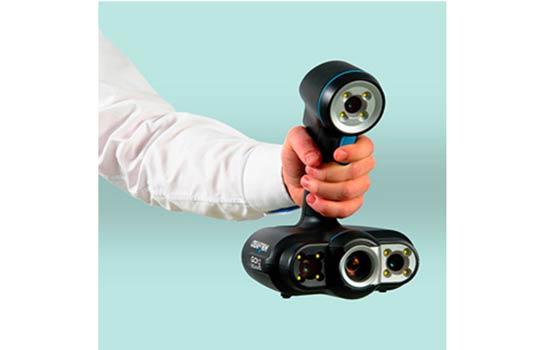 Le scanner portable Go!SCAN 50 parfait pour scanner en 3D des membres.