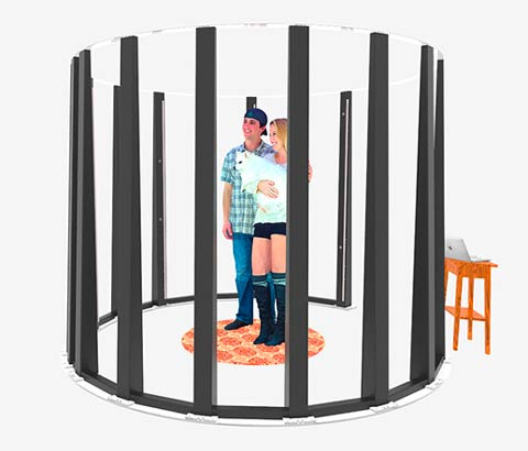 3D body scanner Twindom Twinstant Mobile, best 3D scanners for 3D selfie