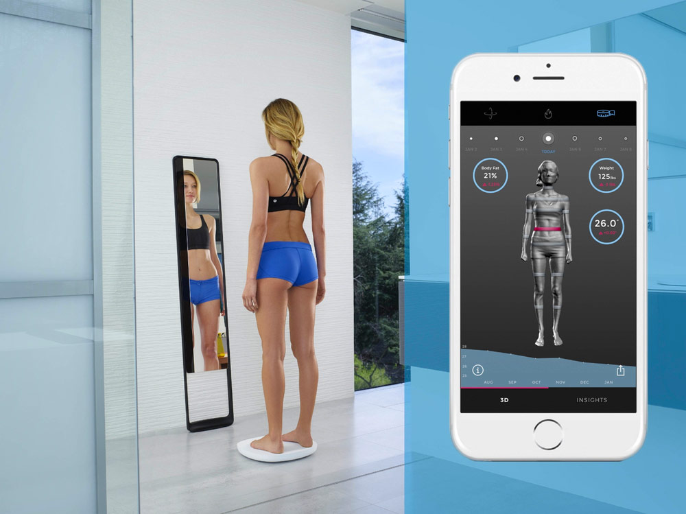 Les scanners 3D pour le fitness. L'option de scanner corporel 3D Naked.