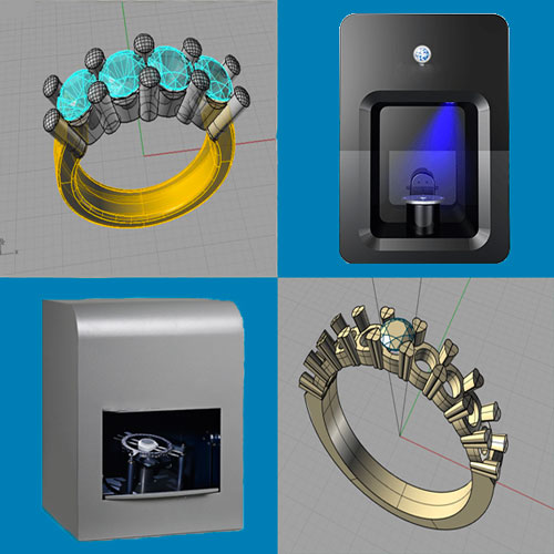 3D scanning and 3D printing for jewelry - 3D printing custom jewelry