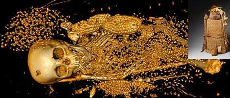 Scan 3D d'une momie au travers de son cercueil. Avantages du scan 3D pour l'archéologie.