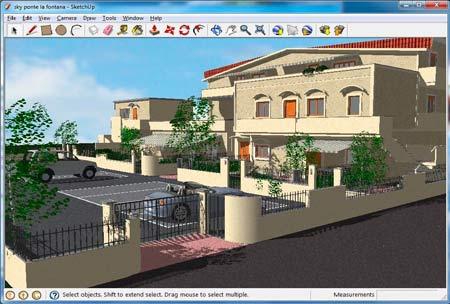 Certains logiciels 3D sont spécifiquement adaptés à un usage en architecture.