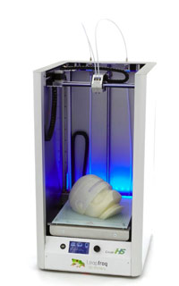 La Leapfrog Creatr HS XL est une imprimante 3D grand volume parfaite pour l'impression 3D.
