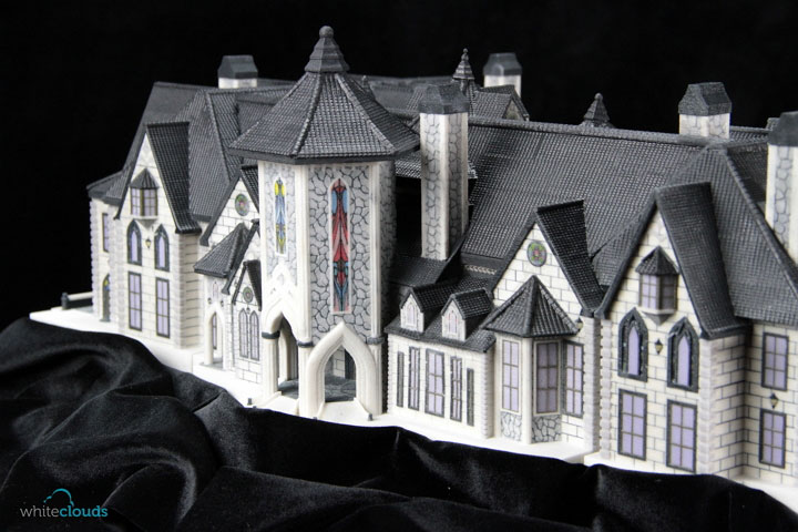 A 3D Printed Home Model. Image Credit: WhiteClouds.