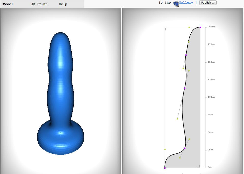 HUb sex toy design personnalise