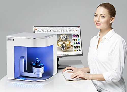 The Rexcan Silver 3D scanner by eLUXE3D, specially made for jewelry 3D scanning.