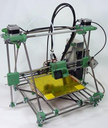 Tricolour Mendel 3 RepRapPro - 3D printers