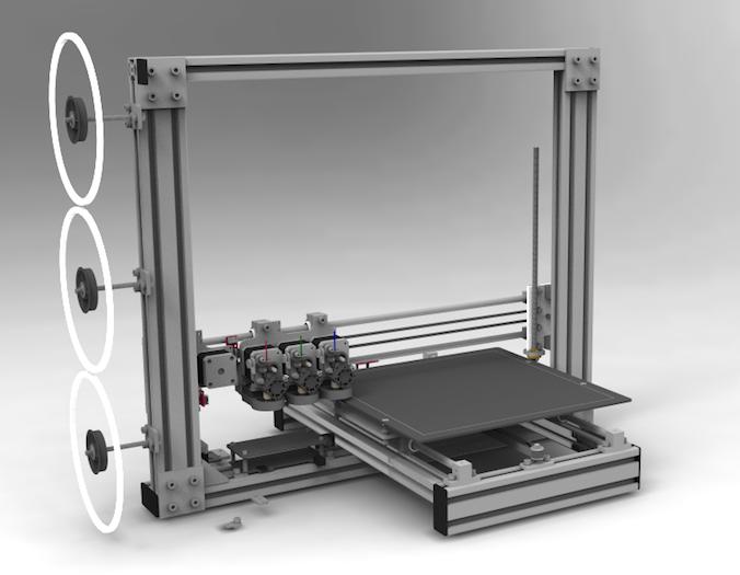 Portabee 30 Romscraj - 3D printers