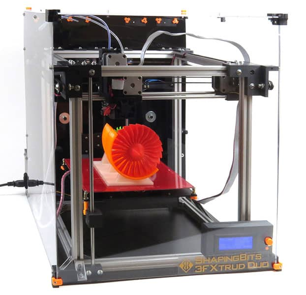 3FXtrud 25 Duo ShapingBits - 3D printers