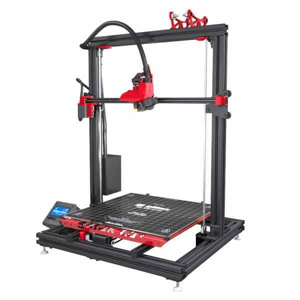 the gCreate gMax 1.5 XT + is a large volume 3D printer sold in kit. With it you can 3D print huge 3D models.