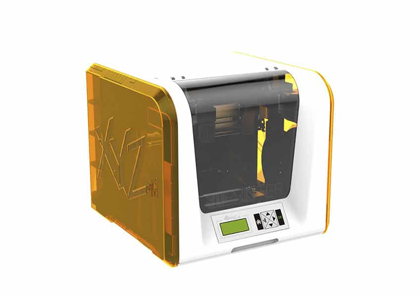 3D printer xyzprinting Da Vinci 1.0 jr left