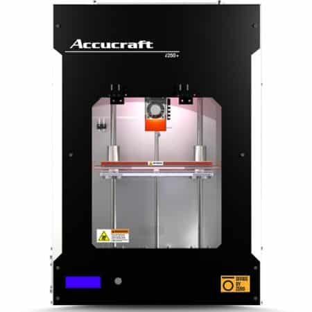 Accucraft i250+ Divide By Zero - 3D printers