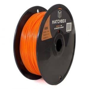 3D printing filament Hatchbox 1.75mm Orange ABS 3D Printer Filament