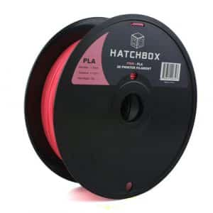 3D printing filament Hatchbox 1.75mm Pink PLA 3D Printer Filament