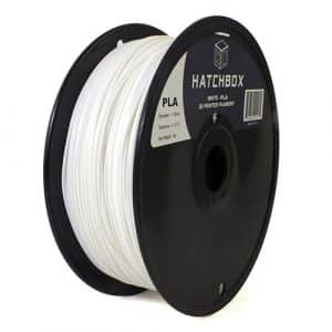 3D printing filament Hatchbox 1.75mm White PLA 3D Printer Filament1