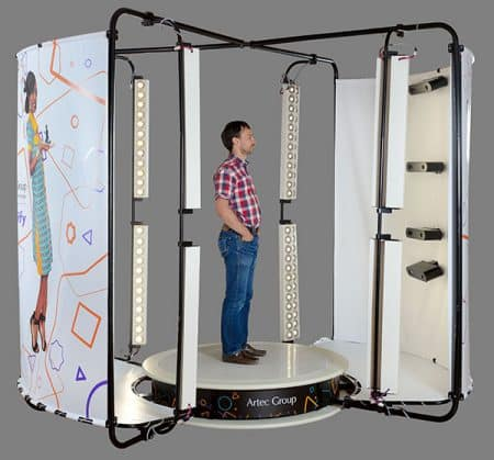 Shapify Booth Artec 3D - 3D scanners