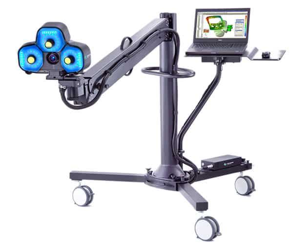 WLS qFLASH Hexagon Metrology - 3D scanners