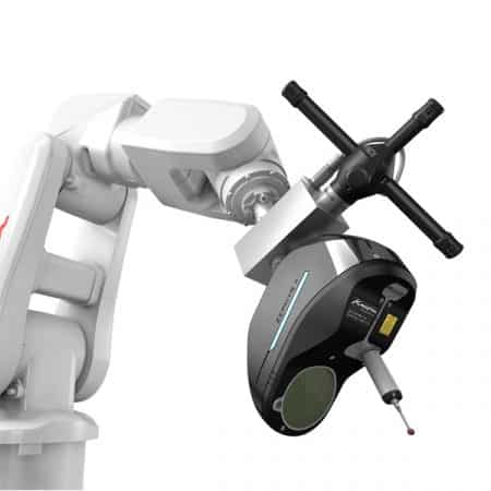 AirTrack Robot - Zephyr II Blue Kreon Technologies - Metrology