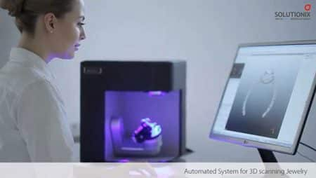 REXCAN DS3 Gold Solutionix - 3D scanners