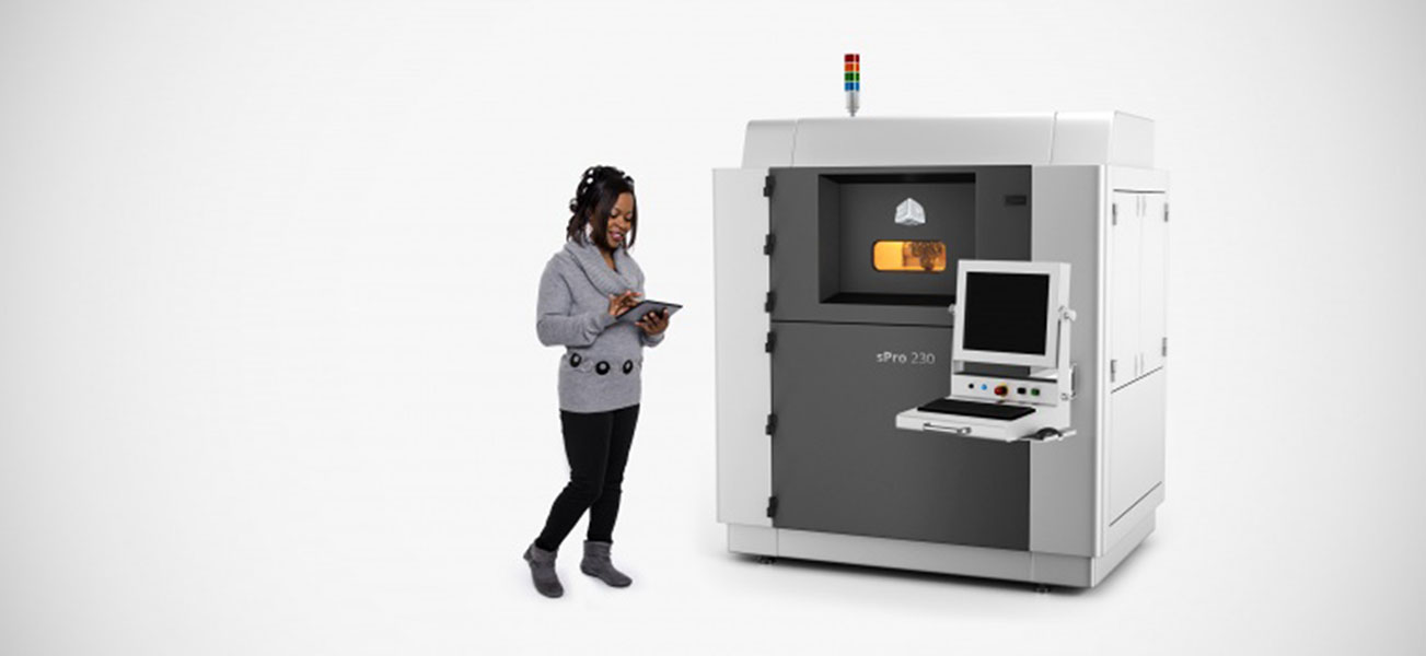 sPro 230 3D Systems  - 3D printers