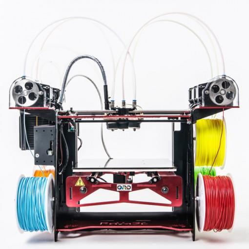 RoVa3D 5 Extruder ORD Solutions - 3D printers